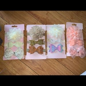 Baby Bows 3pack